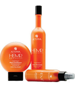 Alterna hemp shampoo and conditioner