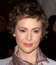alyssa milano short hair 6 انواع مدل مو