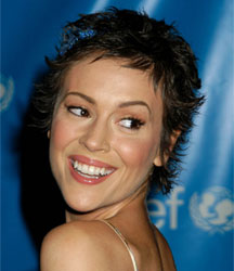 alyssa milano short hair 7 انواع مدل مو