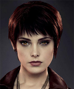 Ashley Greene with short pixie haircut as alice cullen