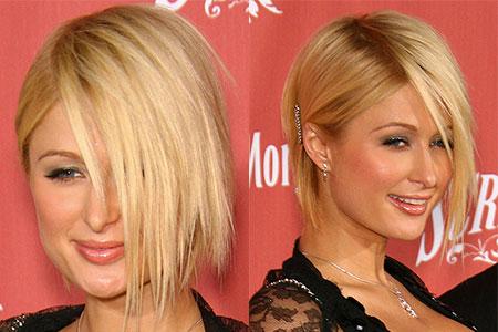 Asymmetric haircuts and bangs