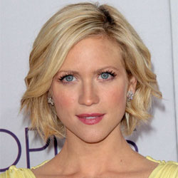 bob with choppy ends and wave by Brittany Snow