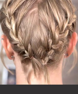 How to do french braid video