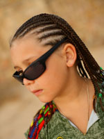 braids and cornrows for kids