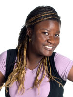 micro braided hair for teens