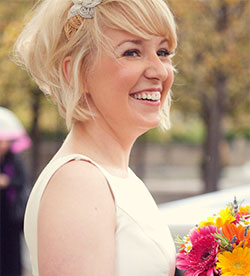 Cute and Effortless Wedding Style