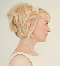 Hair Styles Photos » bridal hair style short