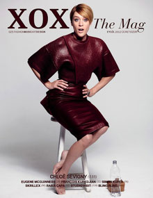 Chloe sevigny on XOXO fashion magazin cover in september 2012