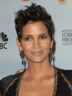 Halle Berry with short formal hair