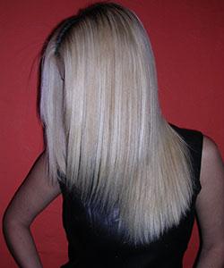 health straight hair free of damage