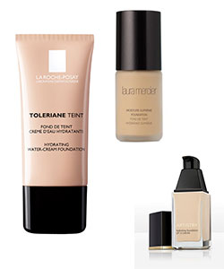 hydrating foundations samples