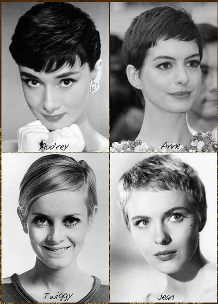 iconic pixie haircuts