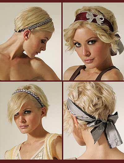 ideas for headbands for different hair types