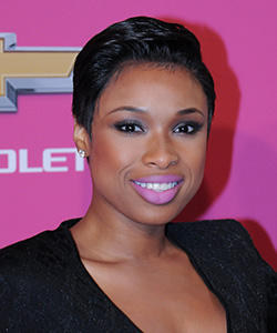 Jennifer Hudson short sleek pixie hair front view