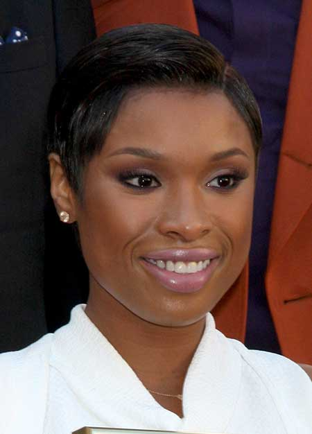 short hair - Jennifer Hudson