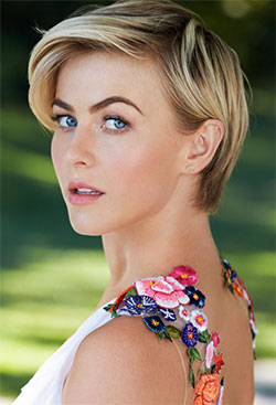 Julianne Hough with cute pixie haircut