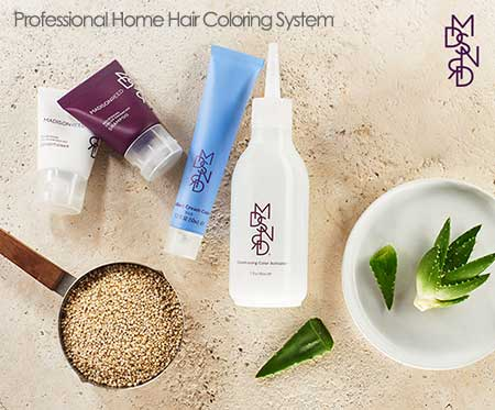 professional at home hair coloring system