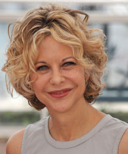 Meg Ryan curly hair in 2010 - May 16