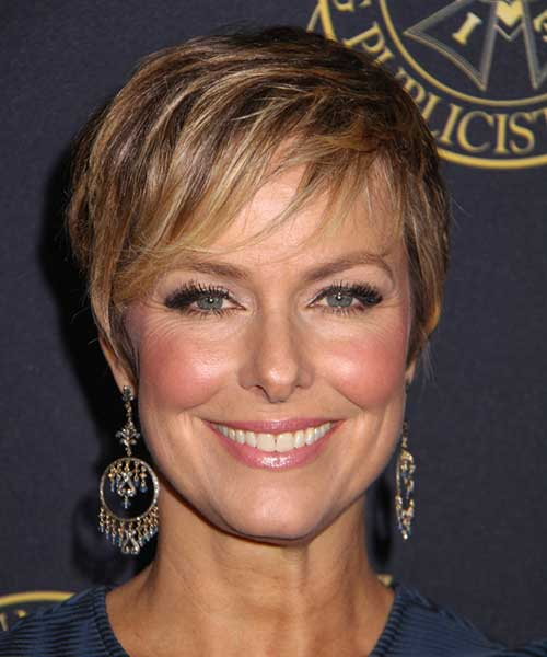 Melora Hardin - 2015 casual short hair