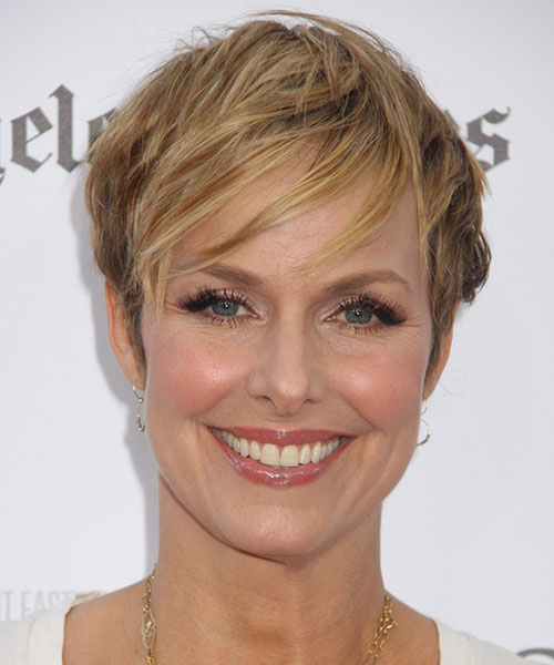 Melora Hardin - 2014 casual short hair