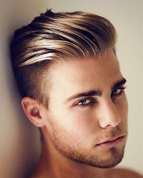 men hairstyle undercut with added top length