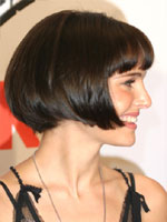 Natalie with Chin-length Bob
