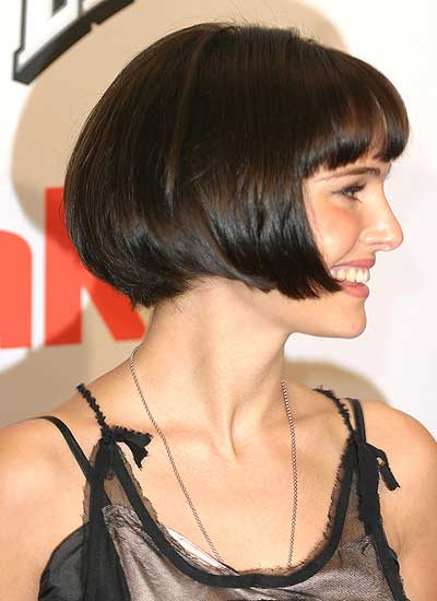 Natalie With Chin Length Bob And Super Short