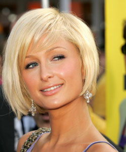 Paris hilton with short hair pmusecretfo Gallery