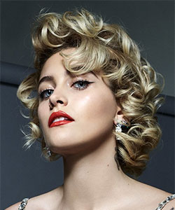 paris jackson in Marilyn Monroe inspired look