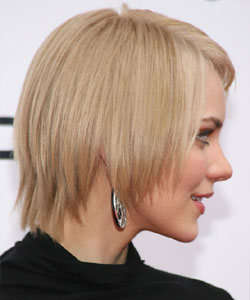 sliced bob haircut