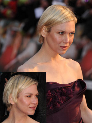 Renee Zellweger With Short Hair