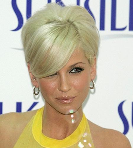 Astounding Sarah Harding With Short Hair Hairstyle Inspiration Daily Dogsangcom