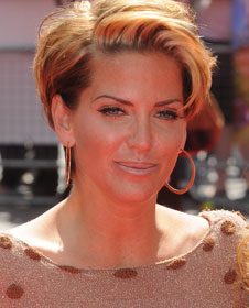 Sarah Harding With Short Hair