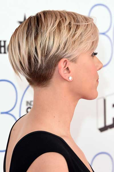 soft edgy haircut on the longer side of pixie - modern haircut