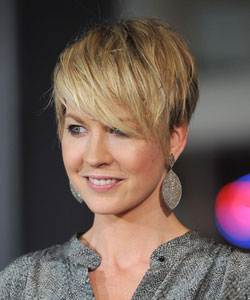 Modern Wavy Short Hairstyle For Thin Hair