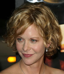 meg ryan short wavy hair