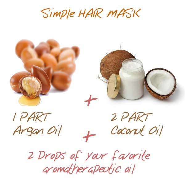 argon oil hair mark DIY