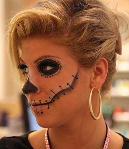 Easy Halloween Makeup and Hair Ideas