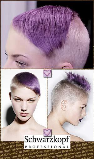vivid lavender hair color