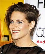 Kristen with Rock-Chic Messy Hair Style
