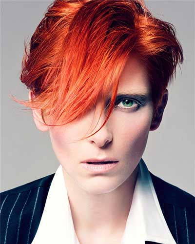 Tilda Swinton's haircut as inspiration
