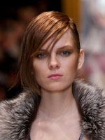 side fringe runway style red copper