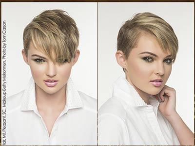Angled Haircut