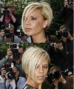 Victoria Beckham hair side views