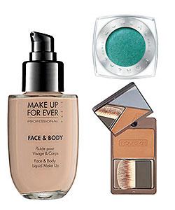 waterproof makeup combo example of three brands