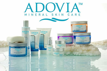 Adovia products from dead sea