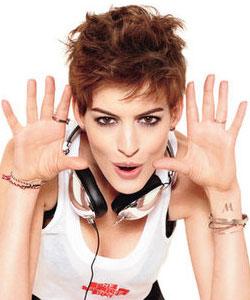 Anne Hathaway on Glamour Magazine