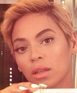 beyonce with short hair