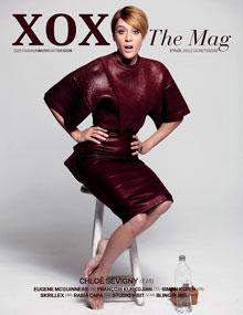 Chloe sevigny on XOXO fashion magazin cover in september 2012