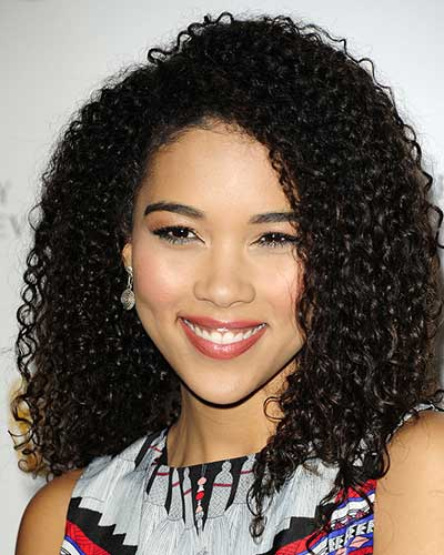 natural hair - Alexandra Shipp
